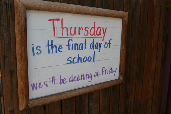 Last Day of School 2012