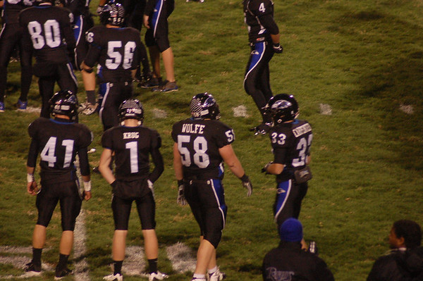 Last Raven Football Game of 09