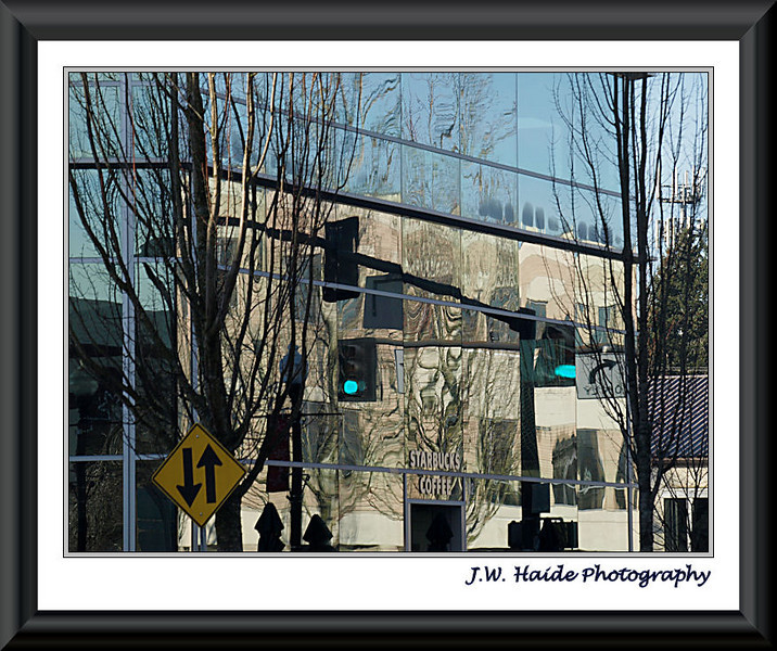 Hillsboro Civic Center reflections