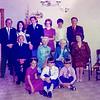 1973 Ray, Mary, Eric, Paula, John, JERM, Edward, Pat, May, Mollie, Anne, Peter, Kevin + Aunt Mary NEG