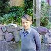 1973 Peter in school uniform NEG