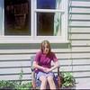 1975 Anne at Pukeliro Ave NEG