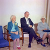 1973 May Maylen, Ray and Aunty Mary - at Marys wedding NEG