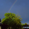 Rainbow after rain storm on May 30th 2009 in Toronto