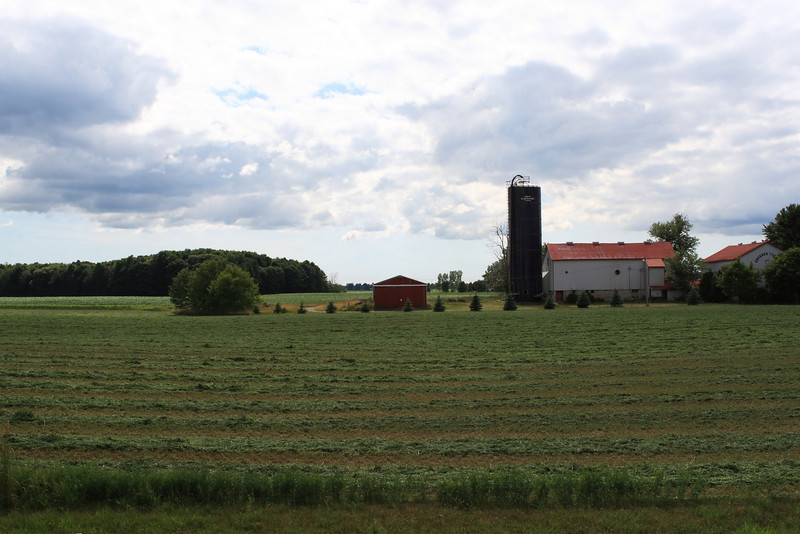 Farm and Cropfield in Ontario