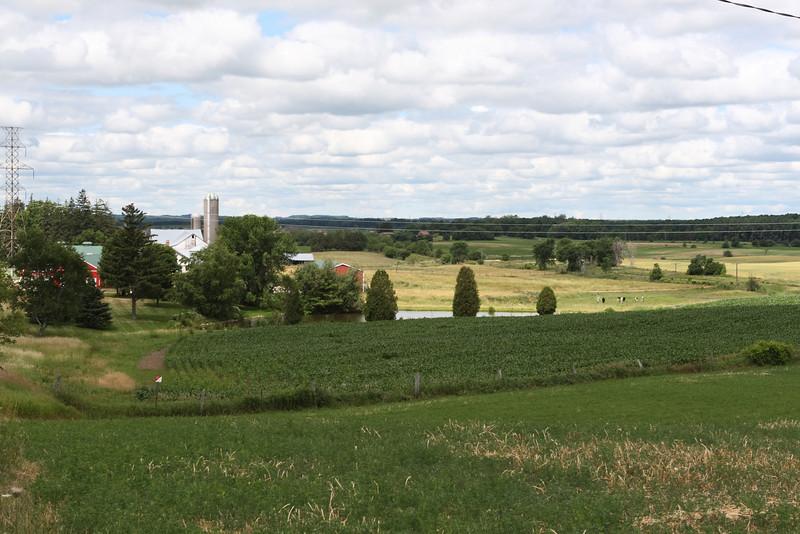 Farmland along Countryside
