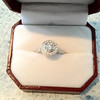 Engagement ring my lil bro got his fiance Elly :D