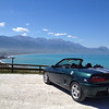 My car in Kaikoura