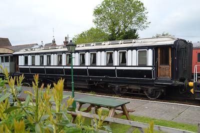 LNWR 806 Royal Saloon.