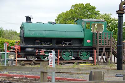 0-6-0ST 16 (3837) 'Biwater Express'.