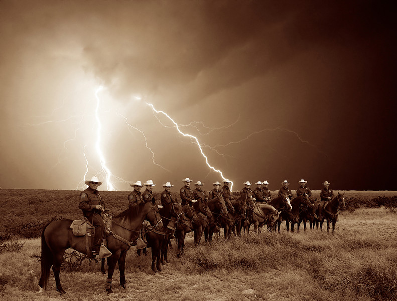US Boder Patrol Horse Patrol Unit