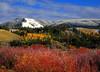 Image #2432. Seasons collide outside Jackson Hole, WY.