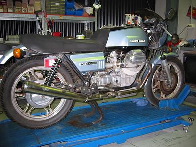 Le Mans 850 restoration