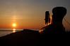 Coucher de soleil sur l'Onondaga