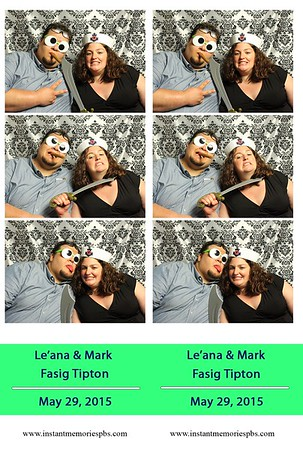 Le'ana & Mark's Wedding 5-29-2015