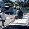 Newport Anchorage Marina, having tied up at completion of the Inshore Skipper Course. Club Sail Pty. Ltd. P.O Box 593, Newport NSW 2106. (we wholeheartedly recommend them)