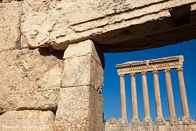 Baalbek ruins - seen morning time