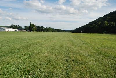 Runway looking south