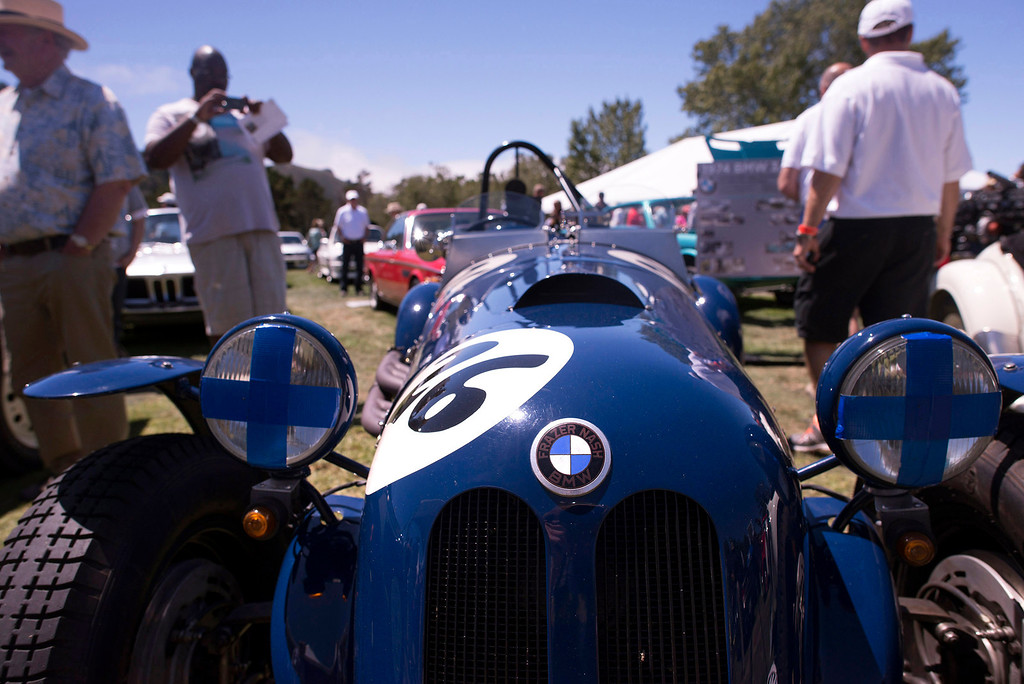 . A modified BMW 315 roadster at the Legends of the Autobahn at the Ranco Canada Country Club in Carmel Valley on August 16, 2013.   (Matthew Hintz/Monterey County Herald)