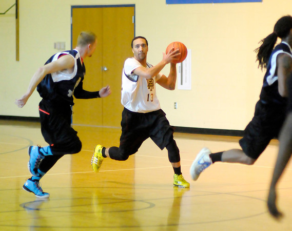 Don Knight / The Herald Bulletin<br /> The Anderson Legends played their first game at Eastside Elementary on Saturday.