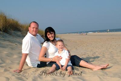 Leggett Family Beach Portraits