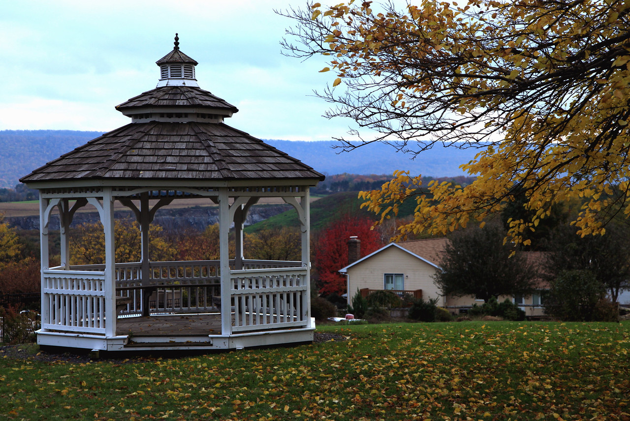 Gazebo in Nittany Orchard Park, across the street from my house