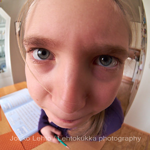Fisheye Portrait