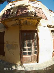 Old Door, Old Balcony