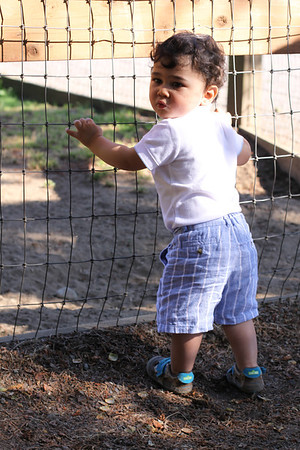 Leo's 1st B'day at Farel-McWhirter Park