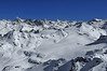 Nendaz Mont Fort<br /> Panorama of the swiss alps, including the Matterhorn, Weisshorn, Zinalrothorn, dent d'Herens, Dent Blanche and the Pointe de Zinal<br /> Panorama du Cervin, Weisshorn; Dent Blanche, Dent d'Herens