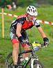 Nendaz, August<br />  Roland Danner one of the leaders in the famous Grand Raid mountain bike race: