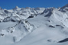 Nendaz Mont Fort<br /> panorama heliskiing on the Rosablanche <br /> heliski sur la Rosablanche