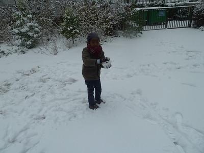 Paris sous la neige 2013
