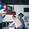 Leslie's retirement party when he retired from Machine Products.