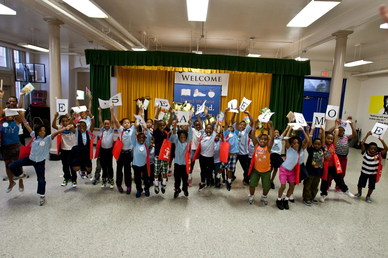 Let's Read, Let's Move! Corporation for National and Community Service Photo.