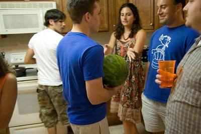 Sweet, a watermelon