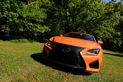 Lexus RCF, June 14, 2015