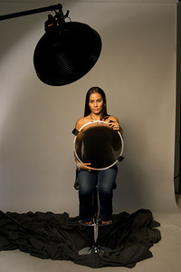 Lumodi Warm Gold 18 inch Beauty Dish