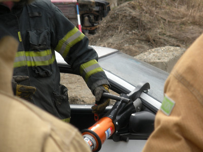 Liberty Area Auto Extrication Training 4-15-2011