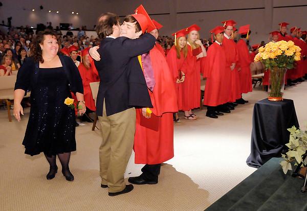 Liberty Christian graduation at Bethany Christian Church on Saturday.
