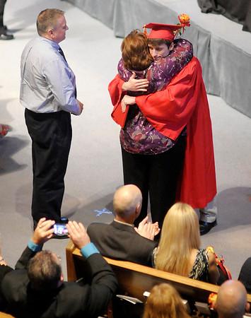 Liberty Christian graduation at Eastside Church of God on Saturday.