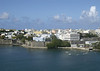 San Juan.  Photo taken from the top deck of the ship as we entered the port.
