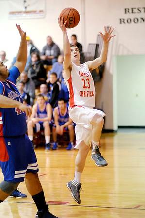 Liberty hosted Elwood on Tuesday.