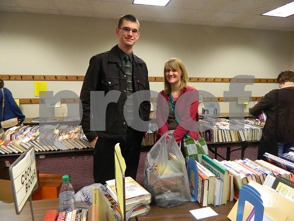 Caleb Huff and Debbie Morrissey