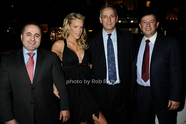Jack Sinanaj, Heidi Albertsen, Harry Sinanaj, Ben Sinanaj<br /> photo by Rob Rich © 2009 robwayne1@aol.com 516-676-3939