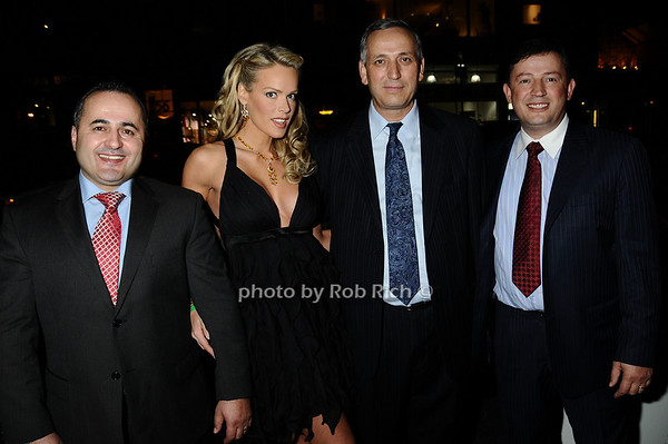 Jack Sinanaj, Heidi Albertsen, Harry Sinanaj, Ben Sinanaj<br /> photo by Rob Rich © 2009 robwayne1@aol.com 516-676-3939