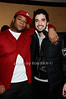 Josue Sejour, DJ Cassidy<br /> photo by Rob Rich © 2009 robwayne1@aol.com 516-676-3939