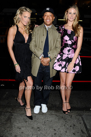 Heidi Albertsen, Russell Simmons, Julie Hendersen<br />  <br /> photo by Rob Rich © 2009 robwayne1@aol.com 516-676-3939