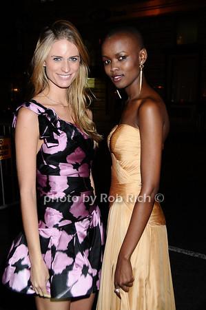 Julie Henderson,  Miss Tanzania  Flaviana Matata<br /> photo by Rob Rich © 2009 robwayne1@aol.com 516-676-3939