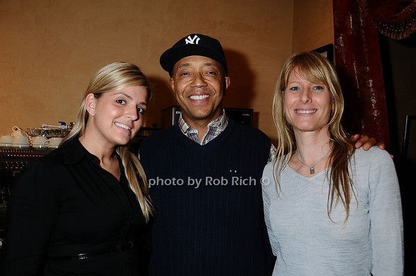 Aferita Sinanja, Russell Simmons, Sondi Colenverg<br /> photo by Rob Rich © 2009 robwayne1@aol.com 516-676-3939